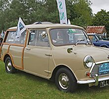 1969Austin Min Countryman Estate  1000cc by Keith Larby