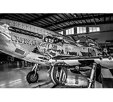 P51 Mustang Fighter plane Photographic Print