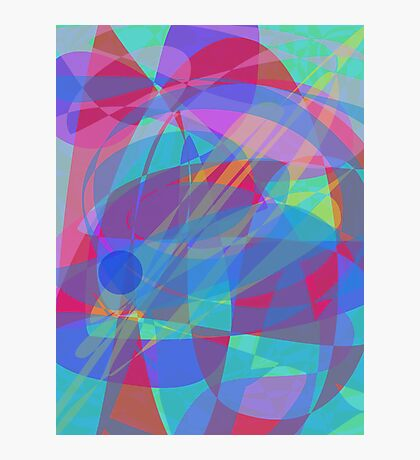 An Elementary Particle Photographic Print