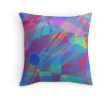An Elementary Particle Throw Pillow