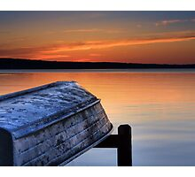 Sunset from South Higgins Lake State Park Photographic Print