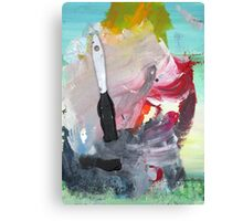 WHILE MY BRUSH GENTLY WEEPS Canvas Print