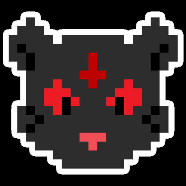 Demonic Cat by robertdesigned