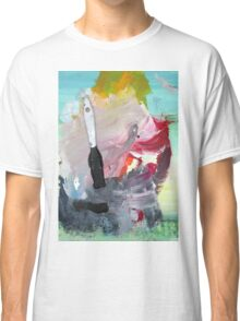 WHILE MY BRUSH GENTLY WEEPS Classic T-Shirt