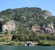 Dalyan Tombs II by taiche