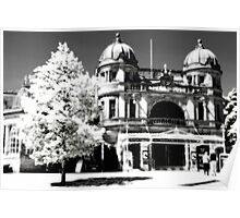 Buxton Opera House, simulated IR film effect Poster