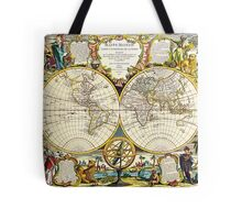 World Map 1755 Tote Bag