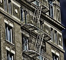 Fire Escape by Angela E.L. Clements