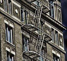 Fire Escape by Angela E.L. Clements