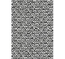 Hand Painted Fish Scales Pattern Photographic Print