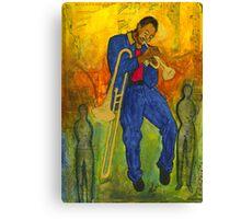 Man of Many Talents Canvas Print
