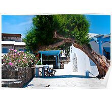 A TREE IN THE CYCLADES Poster
