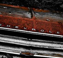Chevy Old Car Graveyard by kgoodwinphoto