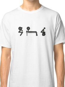 Squat Bench Deadlift (inverted) Classic T-Shirt