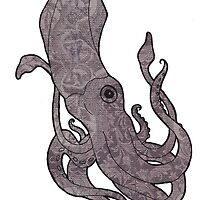Vintage Squid by transorbital