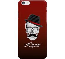 Cool Hipster Skull iPhone Case/Skin