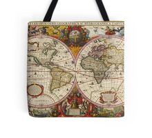 World Map 1630 Tote Bag