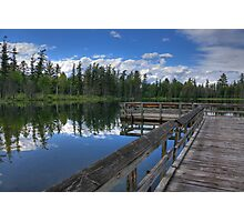 Glory Lake, Hartwick Pines State Park Photographic Print