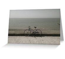 Cinnamon Fleetwood Bicycle  Greeting Card