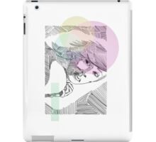 Ink Woman-Colour iPad Case/Skin