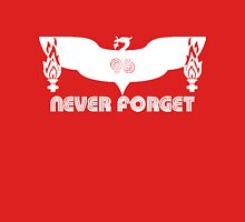 LFC 96 Never Forget - White Unisex T-Shirt