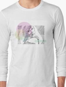 Ink Woman-Colour Long Sleeve T-Shirt