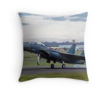 TF-15A 71-0291, the first Strike Eagle Throw Pillow