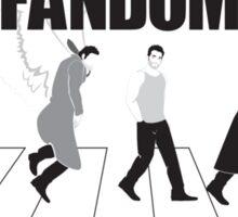 Fandom Crossing v.1 Sticker