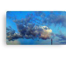 ©HCS Blue Cloudscape Tower Canvas Print