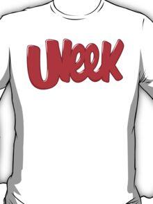 "UNEEK ""BUBBLE GUM"" Original Logo - Redesign T-Shirt"
