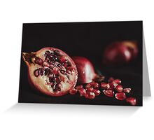 Still granite Greeting Card