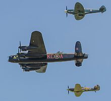 battle of britain memorial flight by clayton  jordan