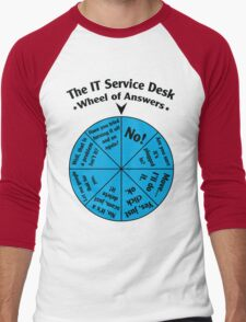 The IT Service Desk Wheel of Answers. T-Shirt
