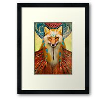 Wise Fox Framed Print