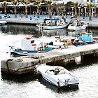 kardamena port Greece by H J Field