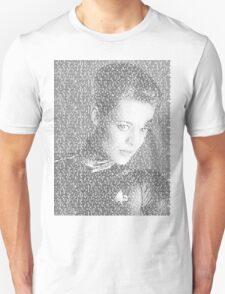 Seven of Nine Close-Up Quotes T-Shirt