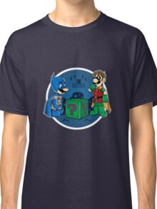 BatMario VS Riddler Classic T-Shirt