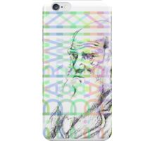 Charles Darwin Coloured iPhone Case/Skin