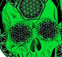 Bursting Geo Skull Sticker