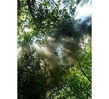 Coal Smoke and Steam Photographic Print
