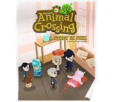 Animal Crossing! Sherlock Poster