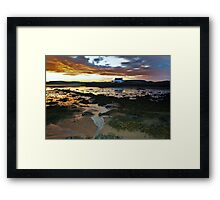 Bay Of Tranquility - Lock Keepers House Framed Print