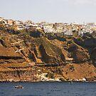 Thíra, Santorini, Greece by Tom Gomez