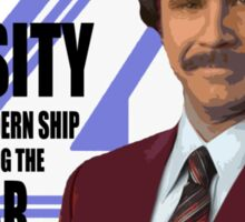 Anchorman - Ron Sticker