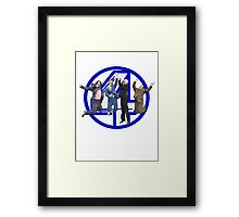 Anchorman - Channel 4 Framed Print
