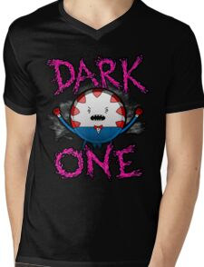 Dark One Mens V-Neck T-Shirt