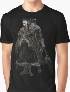Bloodborne - Doll and Hunter Graphic T-Shirt