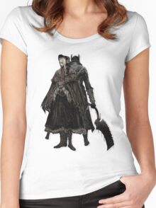 Bloodborne - Doll and Hunter Women's Fitted Scoop T-Shirt