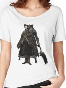 Bloodborne - Doll and Hunter Women's Relaxed Fit T-Shirt