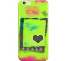 Summer love garden iPhone Case/Skin